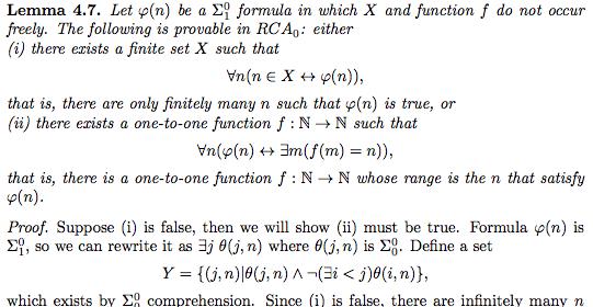 Reverse Math