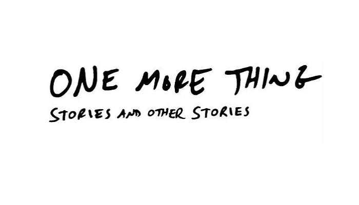 One More Thing by BJ Novak