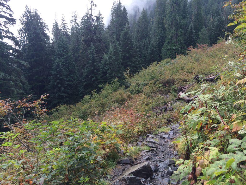 Lake 22 talus slope