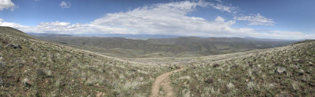 Umtanum Ridge Crest panorama