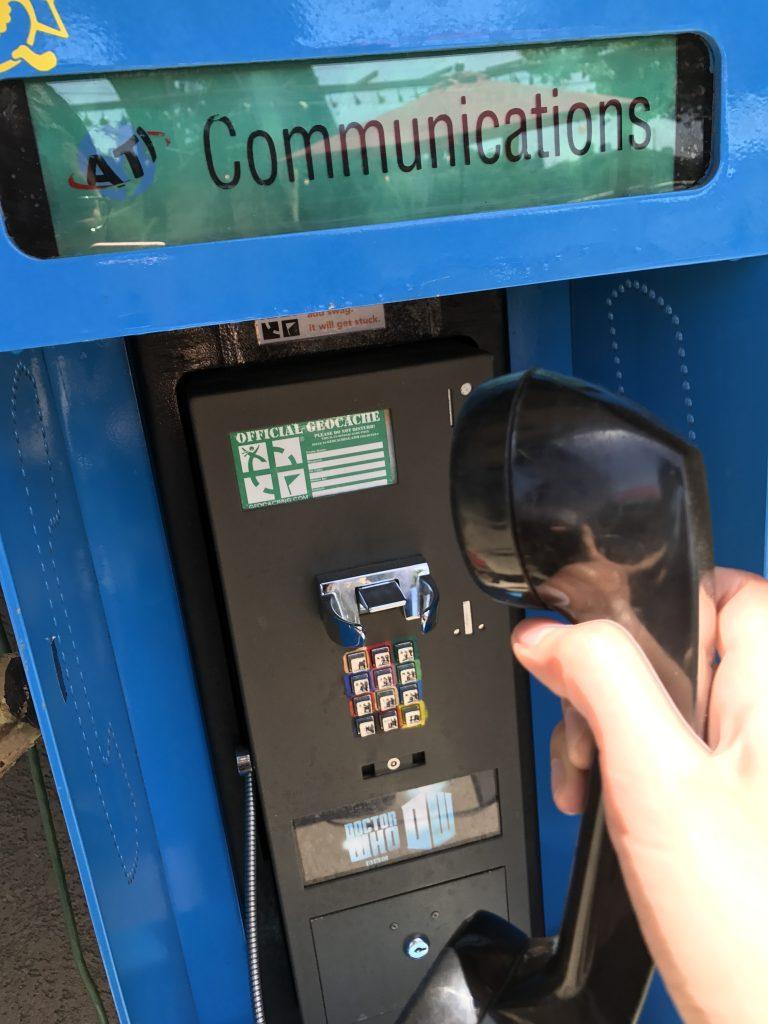 Geocache phone
