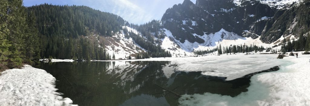 Heather Lake panorama