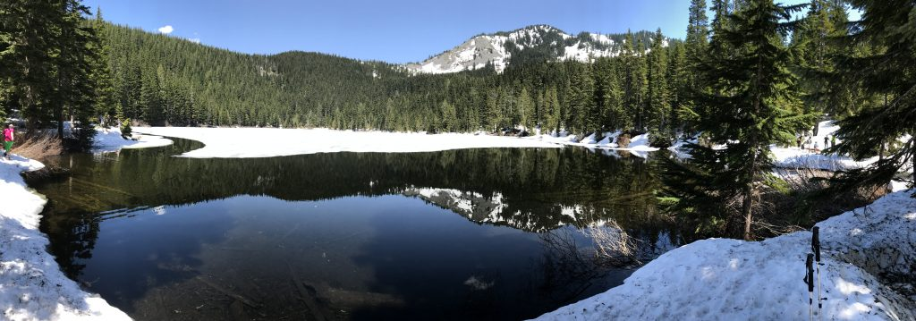 Olallie Lake panorama