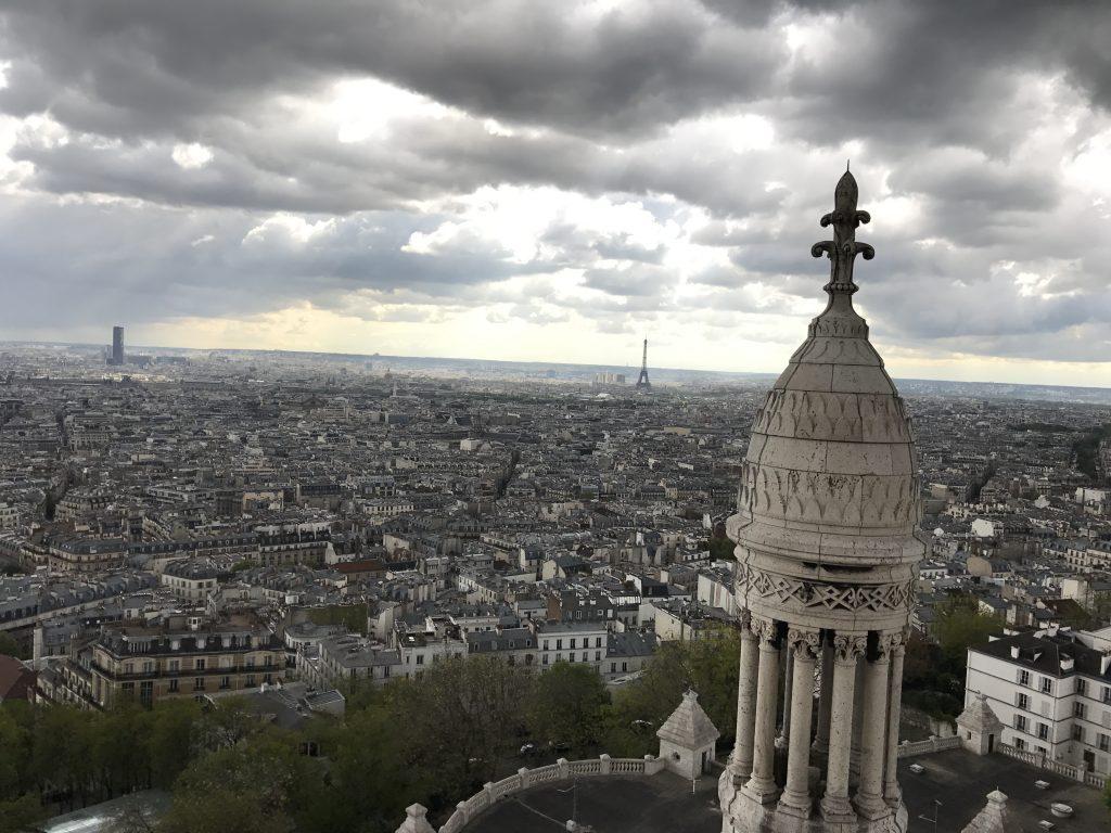 I climbed Sacré-Cœur again