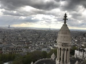 I climbed Sacré-Cœur again