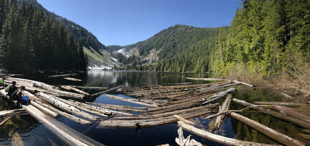 Talapus Lake panorama