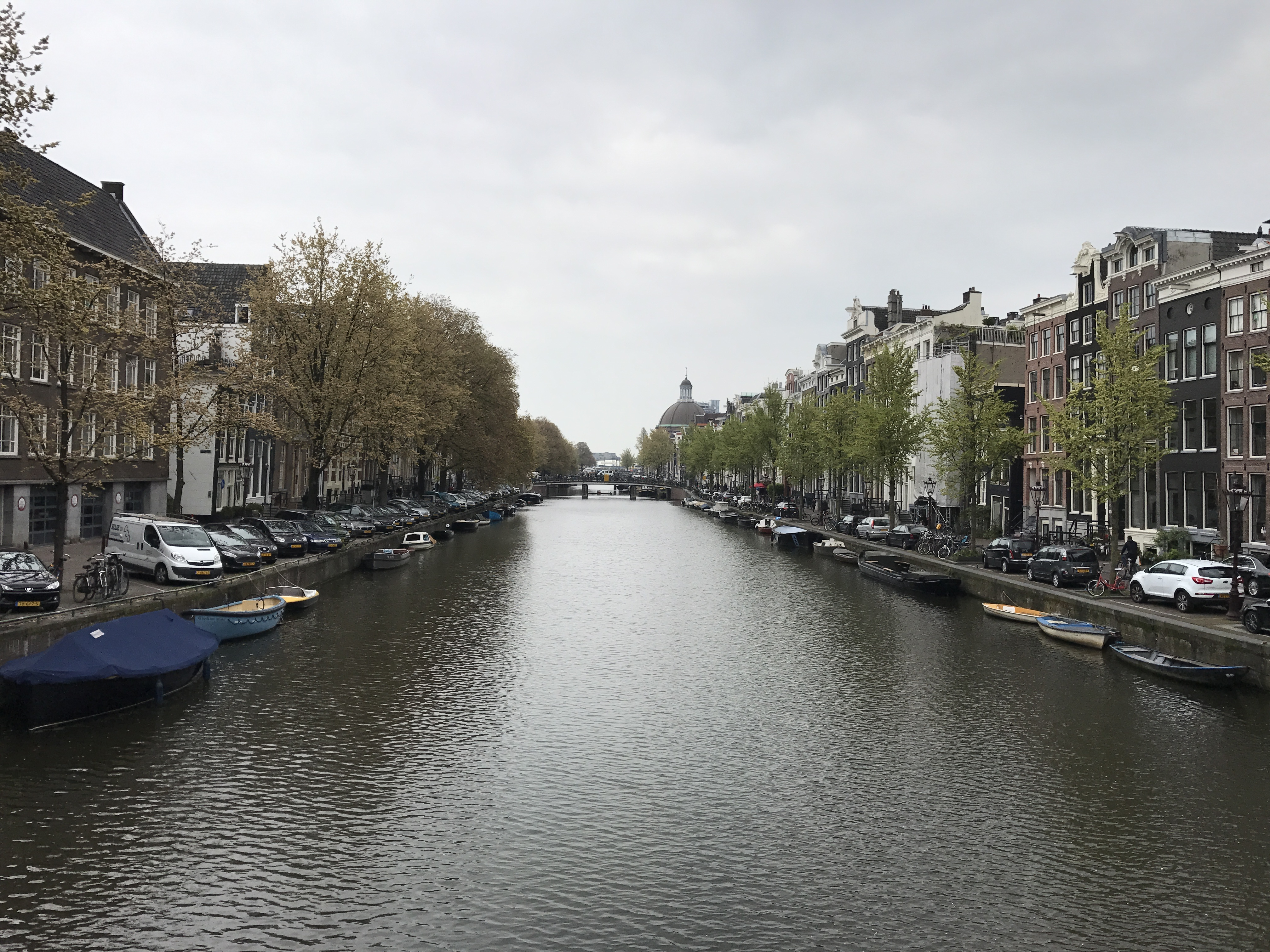A canal in Amsterdam