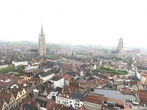 View from the Belfry of Bruges