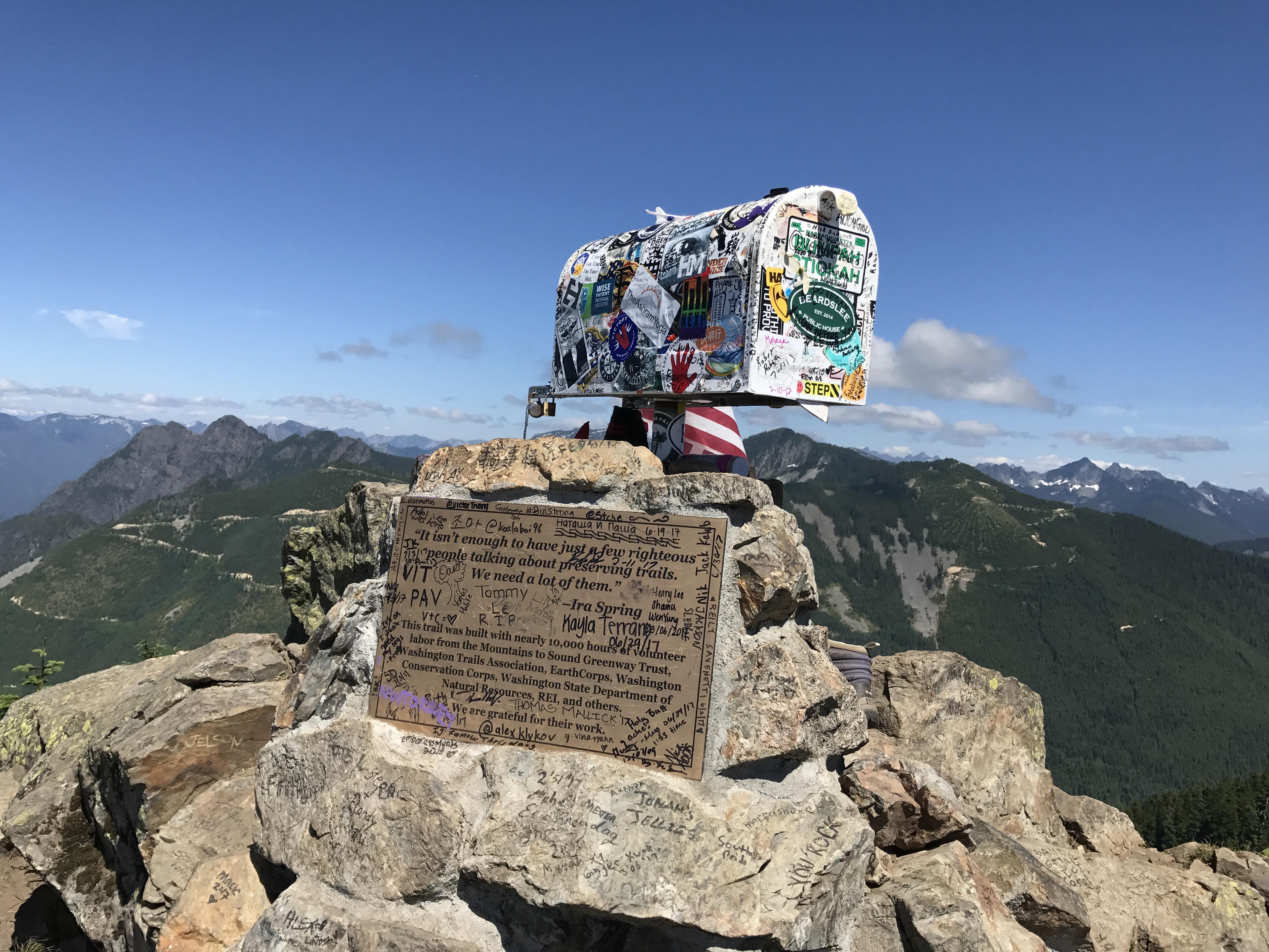 Mailbox Peak | Connie Fan