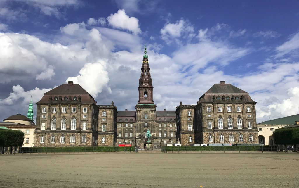 Christiansborg Palace, home of the Danish Parliament