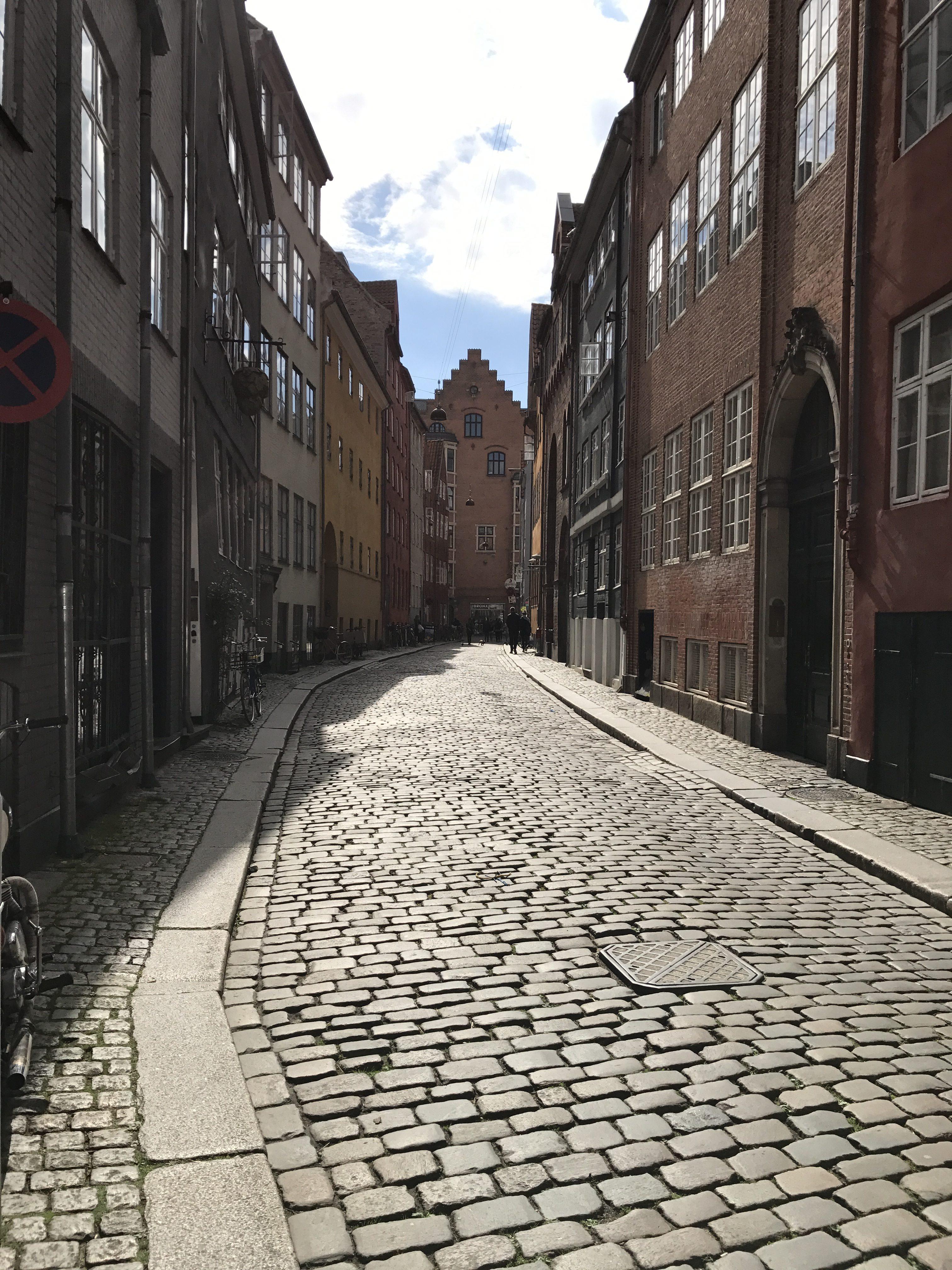 Copenhagen alleyway