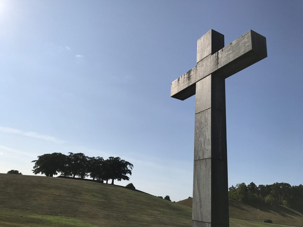 The granite cross