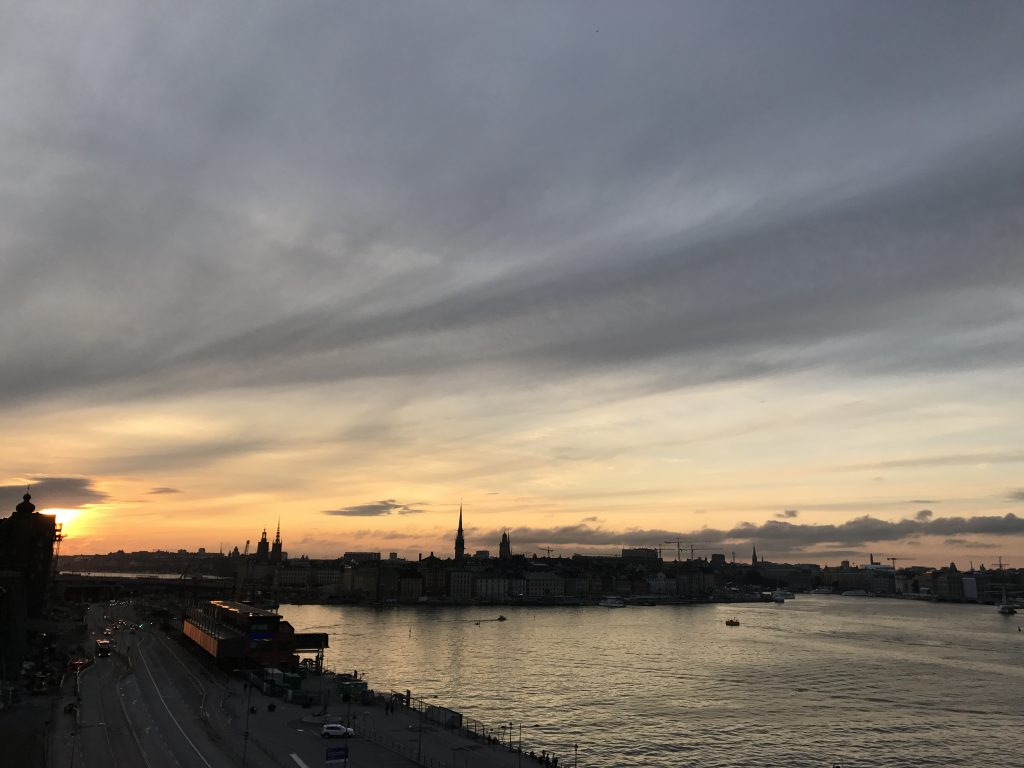 Södermalm sunset