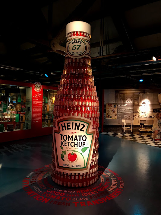 Heinz bottle made of Heinz bottles